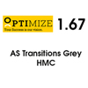 OPTIMIZE 1.67 AS TRANSITIONS® Grey HMC