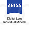 ZEISS Digital Lens Individual Mineral 1.6 Umbramatic. АКЦИЯ!!